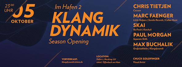 Klangdynamik Season Opening Hafen 2